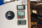 Electronics - Wind Display, Auto Pilot, Depth Sounder, Speed and Distance Log