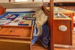 Starboard Double Berth in Salon